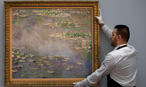 Claude Monet water lilies piece sells at auction for £32m - The Guardian | Aspiring Art Collector | Scoop.it