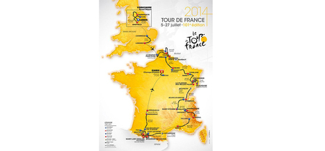 Tour de France 2014 : découvrez le parcours en vidéo - TF1   Christian Portello   Scoop.it