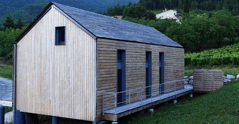 Nouveauté toit : bardage bois comme revêtement de toiture | Conseil construction de maison | Scoop.it
