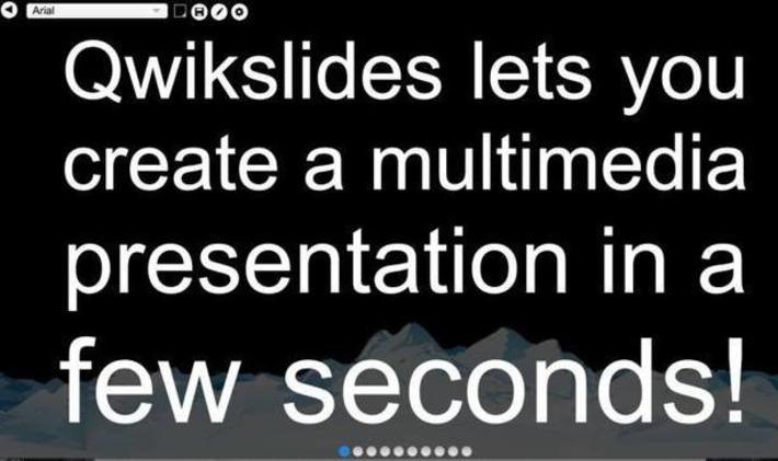Qwickslides. Un outil ultra simple pour créer des slides – Les Outils Tice | TIC et TICE mais... en français | Scoop.it