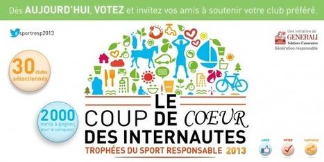 Trophées du  Sport responsable 2013 : les votes pour le coup de coeur des internautes sont ouverts ! | Golf | Scoop.it