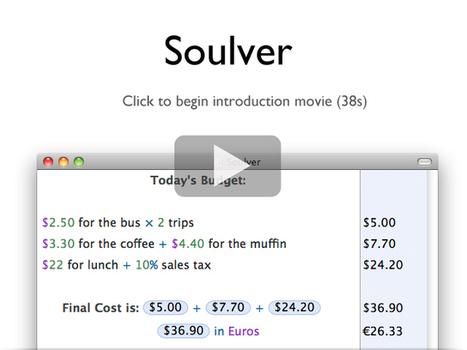 Soulver | Acqualia | iPhone and iPad Development | Scoop.it