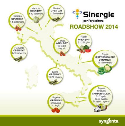 ... : Sinergie Roadshow 2014 | myfruit - frutta e verdura | Scoop.it