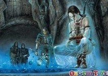 Meditation Luis Royo Jigsaw Puzzle   Online News for Games, Puzzles and Toys   Scoop.it