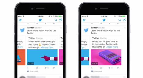 Twitter Carrousel, un tout nouveau format publicitaire ! | Social Media | Scoop.it