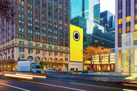 Spectacles : Snapchat installe une boutique géante en face de l'Apple Store de New York - Business - Numerama | STORE & DIGITAL | Scoop.it