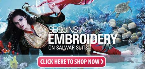 Designer Anarkali Salwar Kameez | Anarkali Suits | Scoop.it