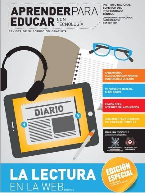Revista Aprender para Educar con Tecnología, en PDF gratis | Educación a Distancia y TIC | Scoop.it