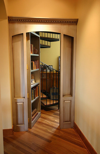 Tor Books — bookriot: 10 Drool-Worthy Secret Passage... | Book Shelves | Scoop.it