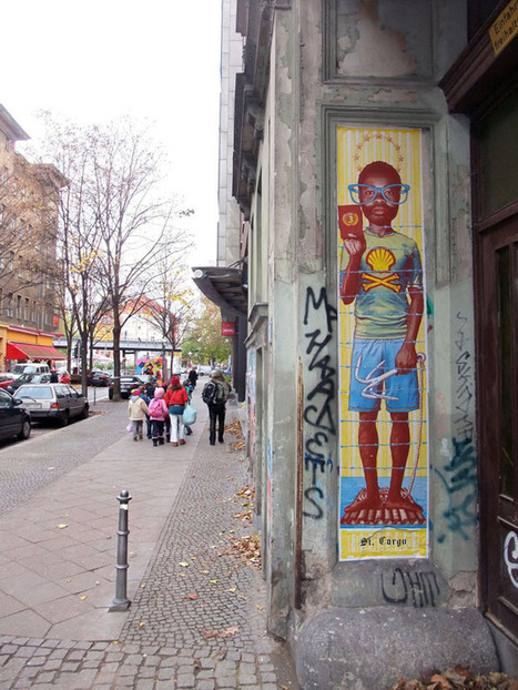 Vandalog – A Street Art Blog » Portraiture in Berlin: New from Cake and Various and Gould   CORPO6   Scoop.it