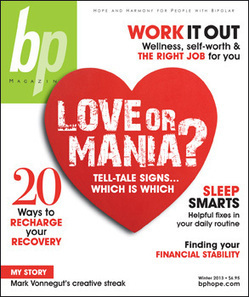 Bipolar Disorder Magazine | Bphope.com Blog | To Each Her Own | The Psychology of Athletics | Scoop.it