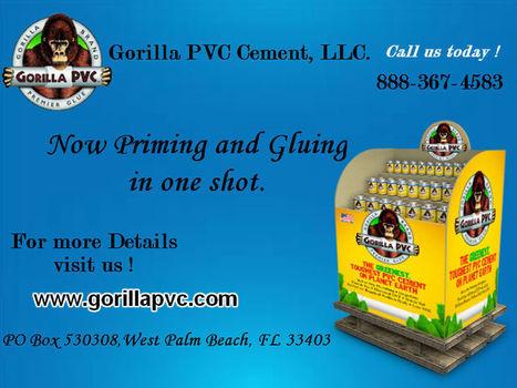 Sprinkler Pipe Glue and Cement | Gorilla PVC Pipe Glue & Cement | Scoop.it