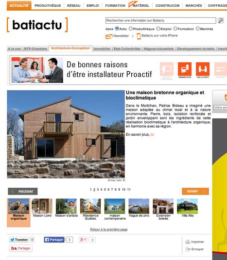 Découvrez 10 maisons bois architecturales d'exception - Batiactu | Le flux d'Infogreen.lu | Scoop.it