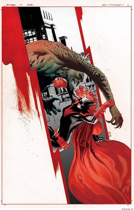 The 'Batwoman' Cover Creation Process Of JH Williams III Finally Revealed - ComicsAlliance | Comic book culture, news, humor, commentary, and reviews | Comic Books Artists | Scoop.it