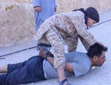 ISIS film a CHILD carrying out a beheading for the first time | Terrorists | Scoop.it