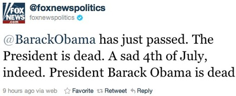 Fox News reports Twitter hack to Secret Service   Hack   Scoop.it