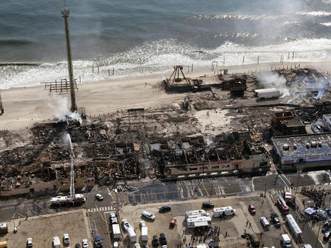 Jersey boardwalk fire's hot spots may slow search for cause - CBS News | CLOVER ENTERPRISES ''THE ENTERTAINMENT OF CHOICE'' | Scoop.it