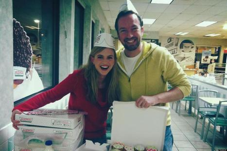 LOOK: Krispy Kreme Gives Engaged Couple Big Gift | MORONS MAKING THE NEWS | Scoop.it