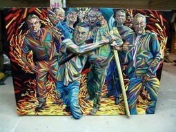 De la 3D dans la peinture - Marchal Mithouard | ART on www.WikiLinks.fr | Scoop.it