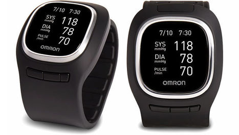 Omron Squeezed an Inflatable Blood Pressure Monitor Into a Watch | Creative Innovation | Scoop.it