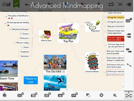 A Great Mindmapping and Notetaking iPad App Is Now Free- Was $4.99 ~ Educational Technology and Mobile Learning | Teaching English as a foreign language | Scoop.it