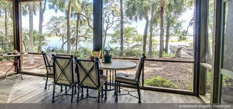 How Screened Porches Bring the Outdoors In | Teak wood furniture | Scoop.it