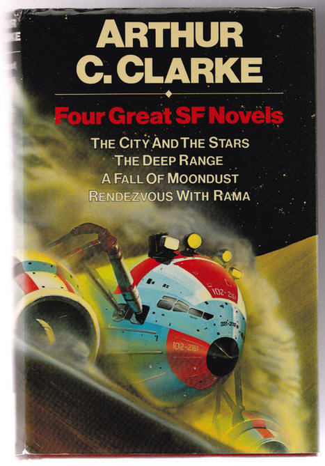 Four Great SF Novels by Arthur C.Clarke. Good condition. | Retrofanattic's articles and items for sale | Scoop.it