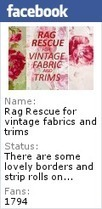 Rag Rescue- Antique,Vintage & Recycled Fabrics/Textiles,Haberdashery & Embellishments.   Sewing   Scoop.it