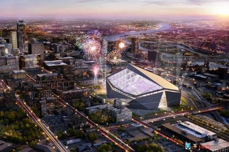 Vikes Reveal New Stadium Design | Creativity, Design & Adv | Scoop.it