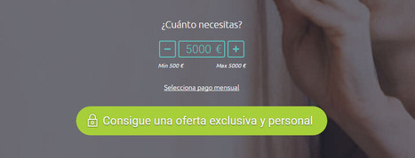 Monedo Now: Solicita Préstamos Personalizados Hasta 5000 € | Préstamos Personales | Scoop.it