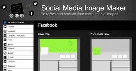 Social Media Image Maker. Créer des images pour vos comptes sociaux   Les outils de la veille   Marketing   Scoop.it