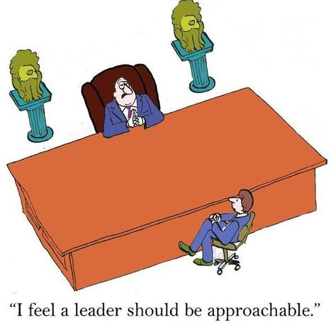 Create an Attitude of Approachability | The Key To Successful Leadership | Scoop.it