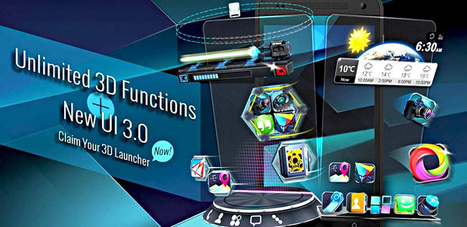 Next Launcher 3D Shell 3.13 apk [Patched]   Android Themes   Scoop.it