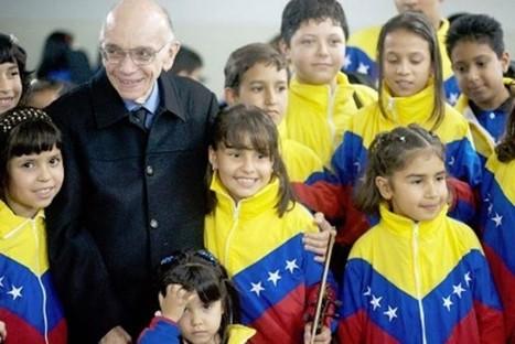 Maestro Abreu: La música es un arte para sembrar valores positivos | Education music | Scoop.it