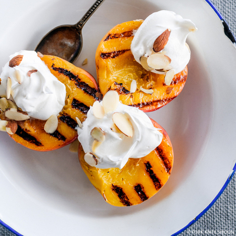 Grilled Peaches - #Food #Recipe   After Retirement   Scoop.it