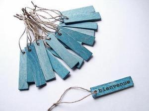 Porte clés ou étiquettes en #bois à réaliser soi-même #idées #DIY | Best of coin des bricoleurs | Scoop.it