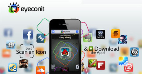 eyeconit : Télécharger une application sur votre Iphone en scannant son logo | Mistipi | INFORMATIQUE 2013 | Scoop.it