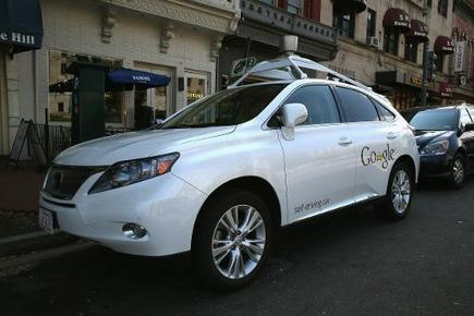Google self-driving car coming around the corner | Sustain Our Earth | Scoop.it