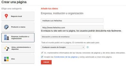 Google+ en los centros educativos | Redes Sociales en educación | Scoop.it