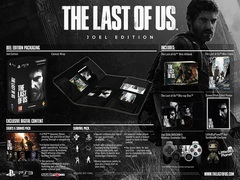 [News] Editions Speciales pour The Last of Us - jeuxvideo-world | News world on the current major events | Scoop.it