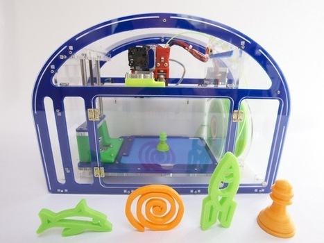 Printeer - a 3D printer for kids & schools | Things I care about... | Scoop.it