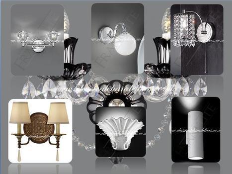 Bohemian Crystal Wall Lights | Chandeliers | Scoop.it