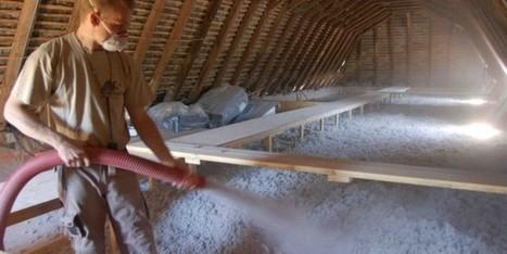 La ouate de cellulose : le meilleur isolant écologique ? | Habitat écologique | Constructions écologiques et durables | Scoop.it