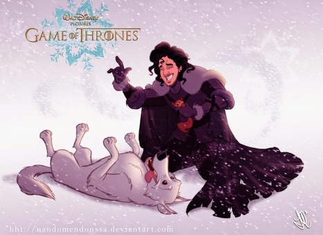 Popped Culture: Disney's Game of Thrones | Matmi Staff finds... | Scoop.it