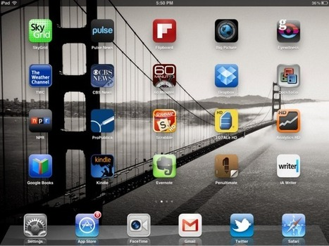Jason Hiner's 20 most useful iPad apps | TechRepublic | Apps and Widgets for any use, mostly for education and FREE | Scoop.it