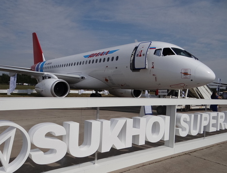 MAKS 2015 (II): Superjet flies the flag | Allplane: Airlines Strategy & Marketing | Scoop.it