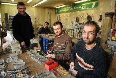 Repris en juin dernier, l'atelier des couteaux emploie huit personnes sur les bords de la Solane | Actualités du Limousin pour le réseau des Offices de Tourisme | Scoop.it