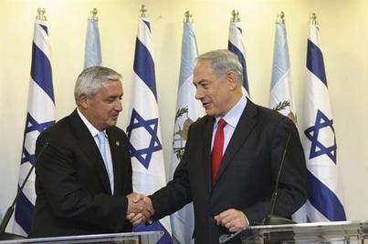 Presidente Pérez confía en negociaciones de paz en Israel - SIGLO21.com.gt   conflicto palestina-israel   Scoop.it