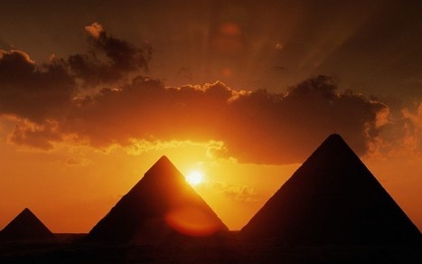 Solved mystery of the Great Pyramid | promienie | Scoop.it