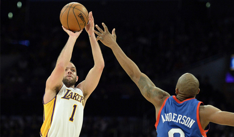 Los Angeles Lakers' Jordan Farmar to miss at least four weeks with hamstring tear   NBA News and Notes   Scoop.it